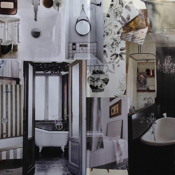 Tendenza grigi: il bagno