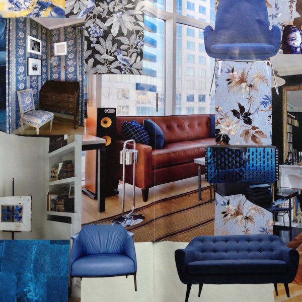 Tendenza: I Blu. Il soggiorno