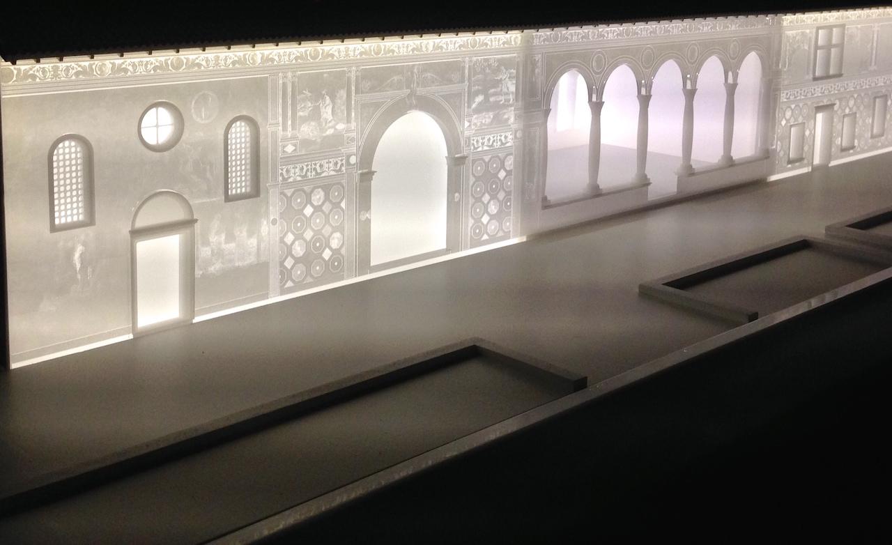 modello decorazione Barco Cornaro