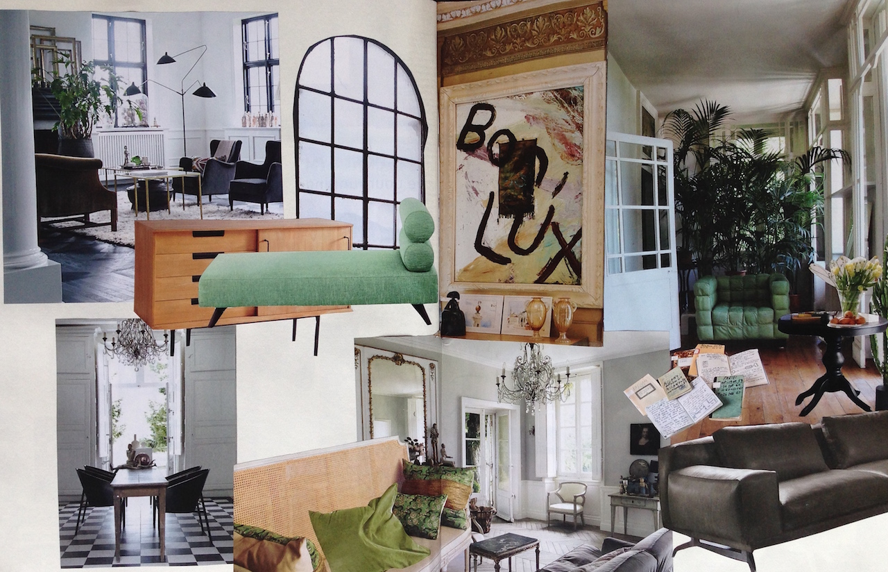 Interior Design Trends: Legno, pietra  e verde