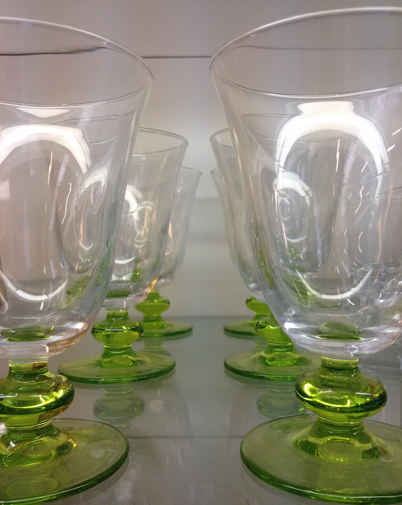 bicchieri verdi