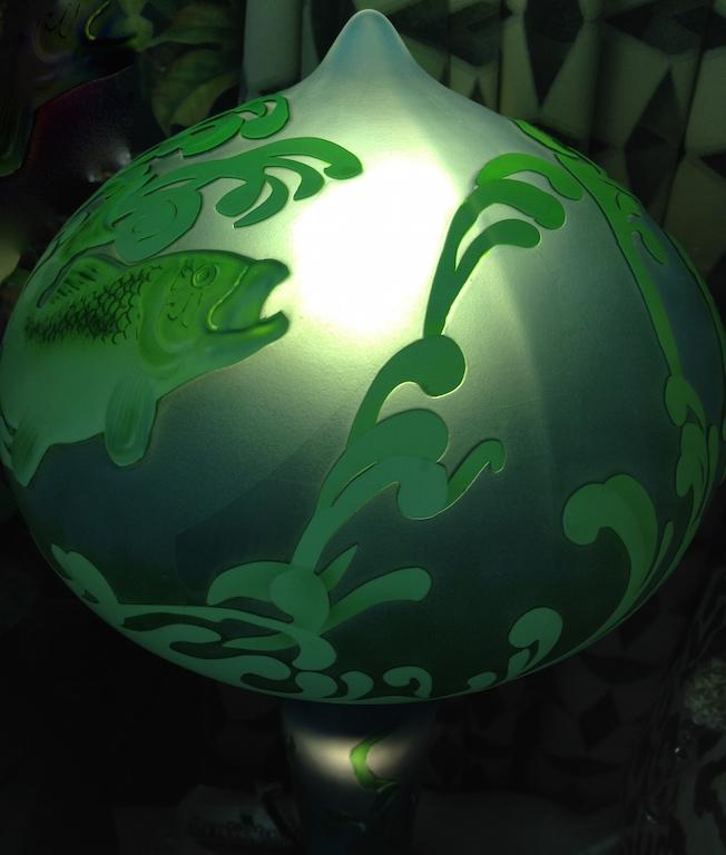 Lampada con pesce