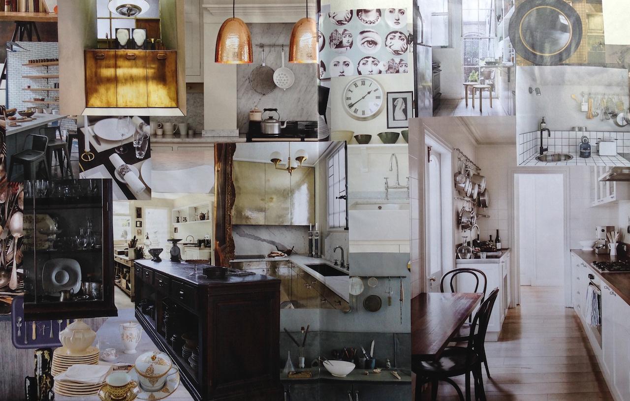 tendenza grigi: la cucina
