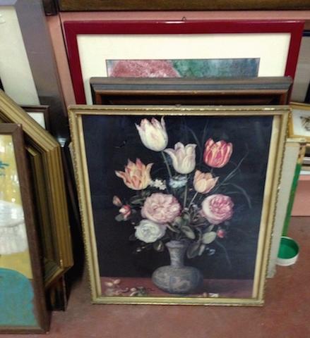 stampa Natura morta con vaso di fiori, crisalidi e farfalle Brueghel, Jan il Vecchio (bottega)