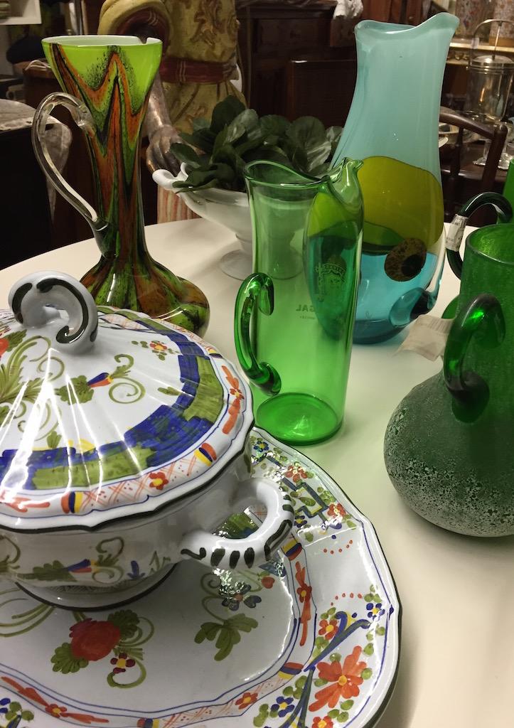 i verdi sulla tavola